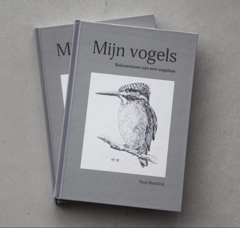 """Vormgeving boek """"Mijn vogels"""""""